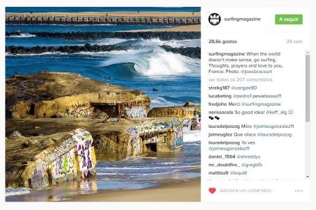 surfing instagram