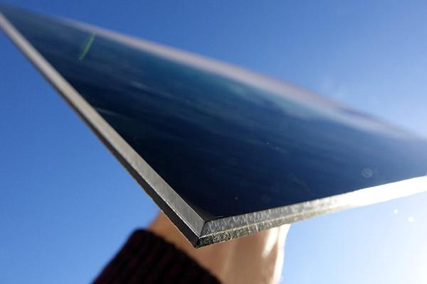 Dibond and plexiglass