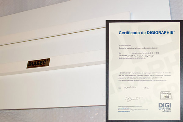 Epson printing certificate